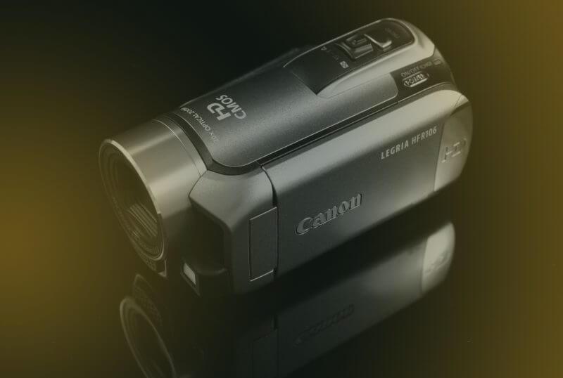Canon Legria videocamera