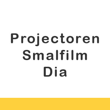 Projectoren - smalfilm en dia